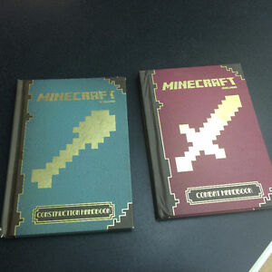 2 MINECRAFT books for $10.00