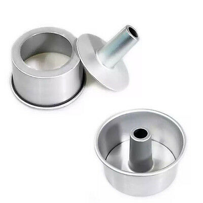 Aluminum Springform Pan Chiffon Cake Bake Bakeware Oven Cook Kitchen Cup Baking