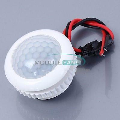 220v 50hz Pir Induction Light Control Ceiling Lamp Body Infrared Switch Mf