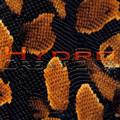 Hydrographic Film Hydro Dipping Water Transfer Film Orange Snake Skin 19 X 38.5