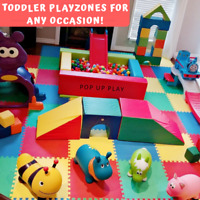 TODDLER PLAYZONE/Kids Entertainment/Bouncy Castle/Party Rentals