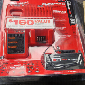 Milwaukee xc battery n charger
