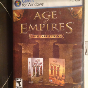Age of Empires, Red Alert 2 and Command & Conquer(2 disc)