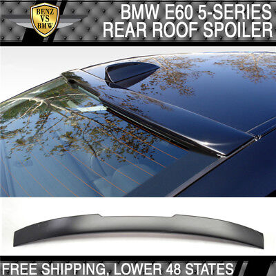 04-10 BMW 5 Series E60 4Dr AC Style Unpainted ABS Roof Spoiler ()