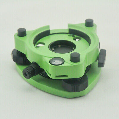 New Greenthree Jaw Tribrach Adapter With Optical Plummet For Leica Total Station