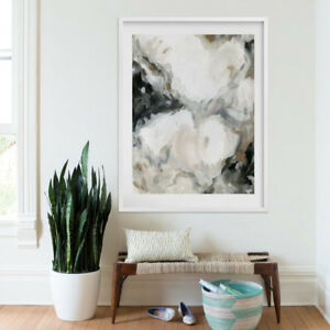Brand new Minted Art Abstract Mesmerize print neutral west elm