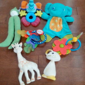 Great baby toys & teething toys (including Sophie the Giraffe!)