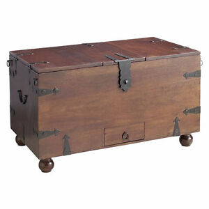 Pier 1 trunk/coffee table/wine chest and end table