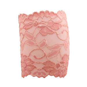 Women's Summer Stretch Lace Floral Boot Leg Cuffs Soft Laced Boo