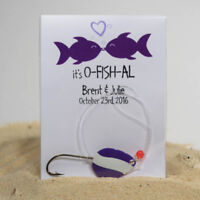 FISHING LURE WEDDING FAVORS