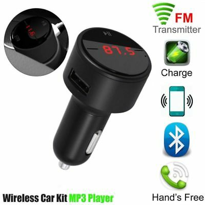 Auto Car FM Transmitter MP3 Player KFZ Bluetooth Freisprechanlage USB Ladegerät