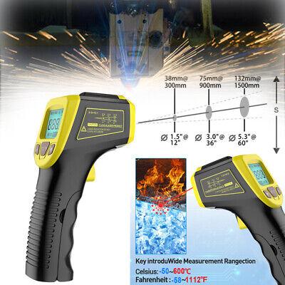 Ir Infrared Laser Temperature Gun Non-contact Digital Thermometer Temp Meter Usa