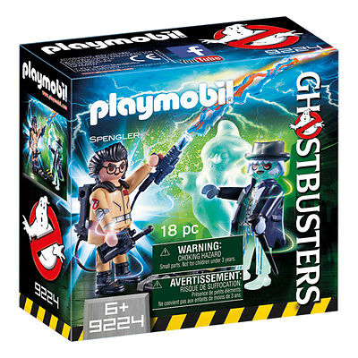 Playmobil Ghostbusters Spengler and Ghost 9224 NEW
