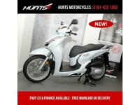 BRAND NEW Honda SH300i ABS Scooter. Pearl White. £4,599 On The Road
