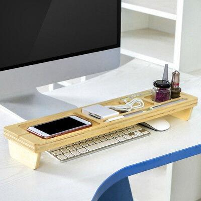 Office Desk Organizer Multifunction Desktop Storage Rack Tidy Keyboard Shelf Box