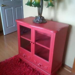 Beautiful Red Cabinet