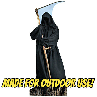 Determined REAPER Plastic OUTDOOR YARD DECOR Standee Standup Termination Prop FREE SHIPPING