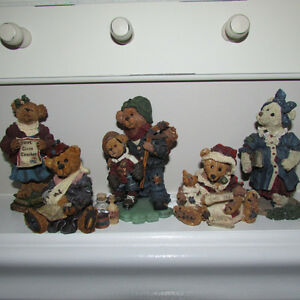 5 BOYDS BEARS AND FRIENDS COLLECTIBLE FIGURES - 5 for $20.00