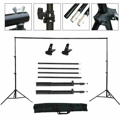 10Ft Photograph Adjustable Background Support Stand Photo Backdrop Crossbar Kit  (Background Support Stand)