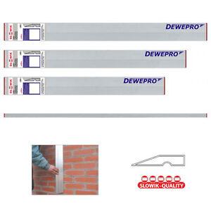 3er-Set: Aluminium Trapez Richtlatte Kardätsche Kartätsche Putzlatte Abziehlatte