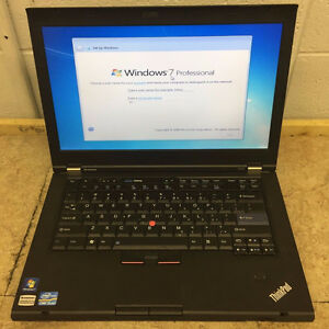 "Lenovo T430 14""Core i5-3320M 2.60GHz/4GB/320GB Win7 Pro/Webcam"