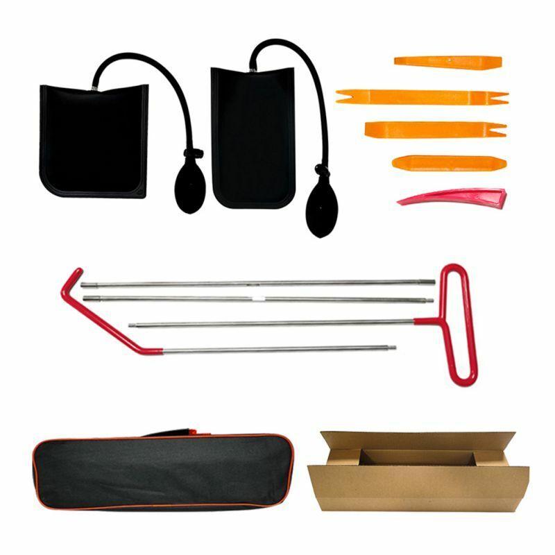 Car Door Open Unlock Kit Set Key Lock Out Emergency Opening Air Pump Wedge