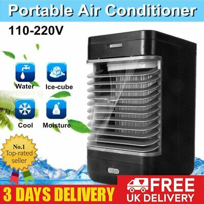 Portable Air Conditioner Fan Cooler Cooling Fan Humidifier System Home Office UK