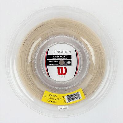 Wilson Sensation 16 Tennis String Reel Comfort 1.30 Length 200mm 660ft WRZ911000