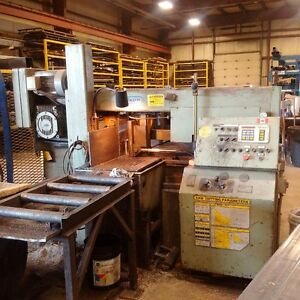 Hyd-Mech H-14A Metal Cutting Band Saw