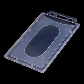 Plastic Card ID Holder