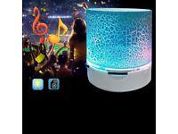 LED MINI MP3 Speaker Subwoofer TF USB Music Sound Wireless Color Blue