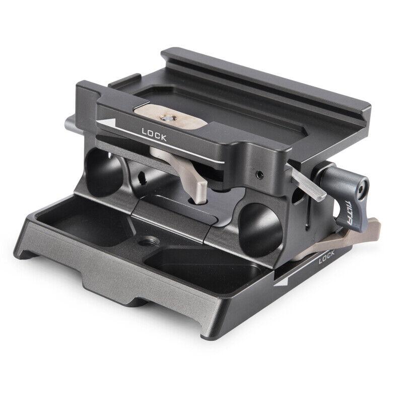 Tilta TA-BSP-15-G 15mm LWS Baseplate for BMPCC 4K Camera Cag