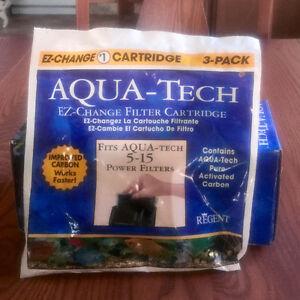 Aqua-Tech 3 pack #1 Ez-change Filter Cartridges
