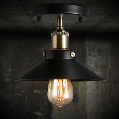Vintage Hängelampe (Pendelleuchte Vintage Industrielampe Hängeleuchte Deckenlampen Retro Licht CO)