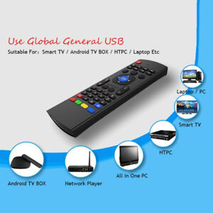 Air mouse remote for Android tv box,  Pc Computer, Laptop