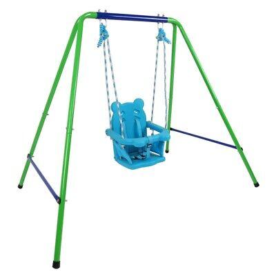 Toddler Kids Baby Swing Set Indoor Outdoor Backyard Swing set Folding Playset