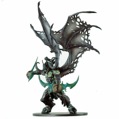"World of Warcraft Demon Form Illidan Stormrage Deluxe Action Figure Toy 8.6/"" New"