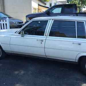 1989 Cadillac Brougham chrome Sedan