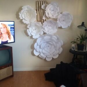 giant paper wedding flowers