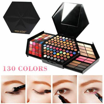 Kit de maquillaje de ojos de 130 colores Paleta de sombras de...
