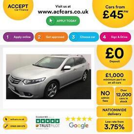 Honda Accord 2.2i-DTEC ADAS 2012MY EX FROM £45 PER WEEK!