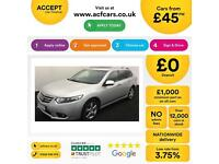 Honda Accord 2.2i-DTEC ADAS 2012MY EX FROM £45 PER WEEK!
