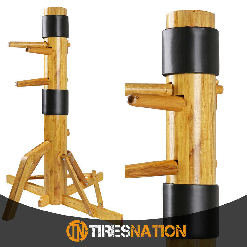 New Solid Wood Free Standing Training Dummy Wing Chun Ip Man Martial Art