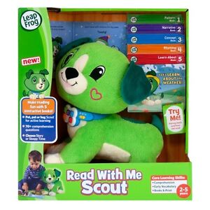 COMPUTERIZED LEARNING TOY-READS W/BOOKS (NEW IN BOX)