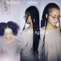 African hairdressing/ coiffure et tresses africaine.