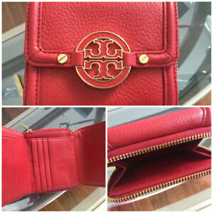 Red Tory Burch authentic bag