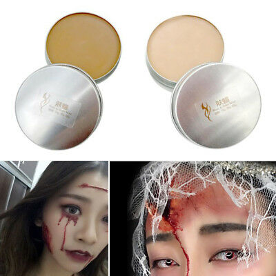 Halloween Fake Wounds (Hot Halloween Fancy Dress Fake Scar Wound Skin Wax Body Face Painting)