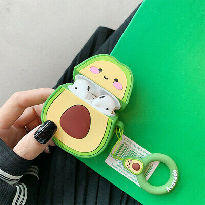 Favorite Cute Cartoon Silicone Airpods Case Cover For Apple Airpods Accessories Cute Apple