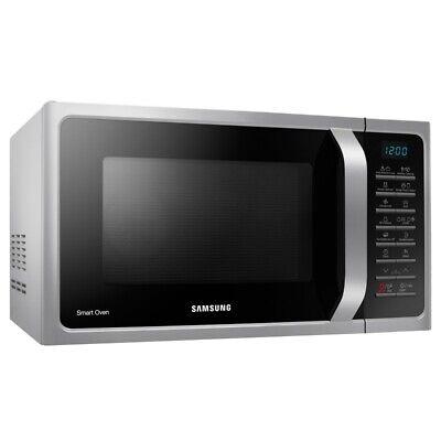 Samsung MC28H5015CS EG Heißluft Mikrowelle mit Grillfunktion und Timer 1400W