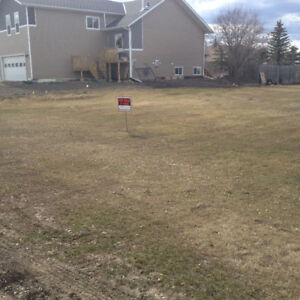 Large vacant lot in Rycroft
